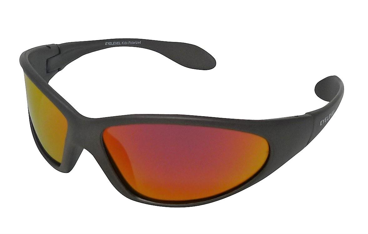 Seal Kids Sunglasses Polarized Red-Mirror Cat-3 UV400 Lenses