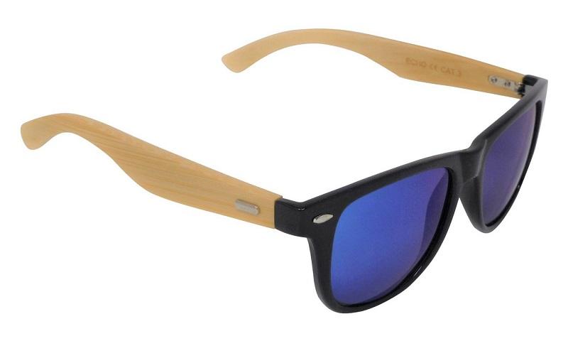 Echo Sunglasses Polarized Blue Mirror Cat-3 UV400 Lenses