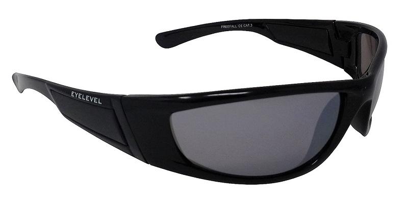 Freefall Sports Sunglasses Silver-tinted Mirror Cat-3 UV400 Shatterproof Lenses
