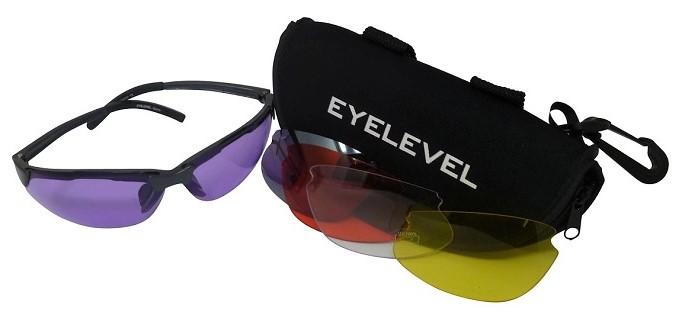 Marksman Shooting/Safety Glasses 5 Colours Interchangeable Shatterproof UV400 Lenses