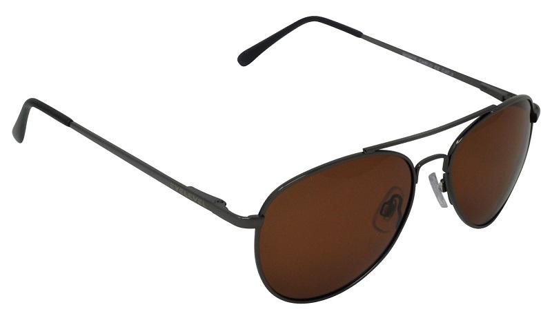 Monte Carlo pilot style Drivers Sunglasses Polarized Copper Cat-3 UV400 Lenses (BLT)