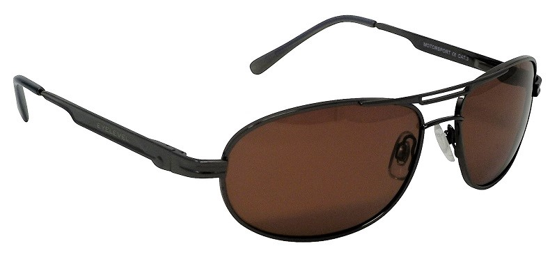 Motorsport  pilot style  Sunglasses Polarized Copper Cat-3 UV400 Lenses