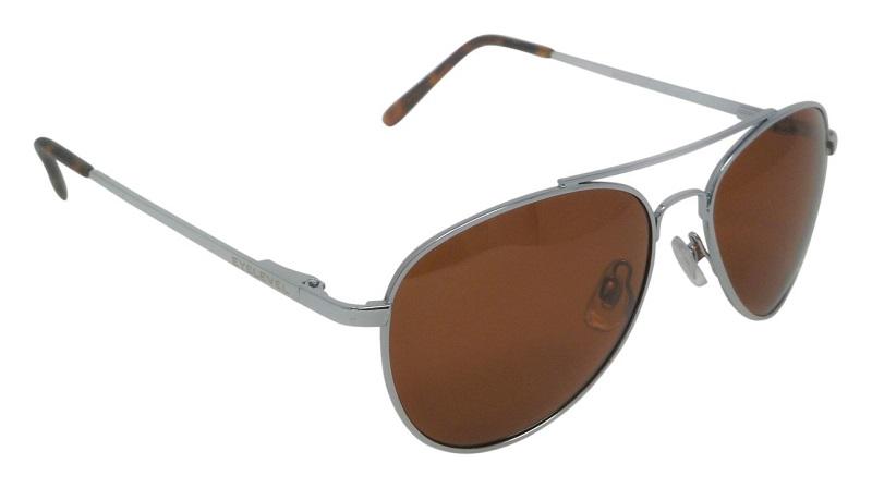 Monte Carlo pilot style Sunglasses Polarized Copper UV400 Cat-3 Lenses (BRT)