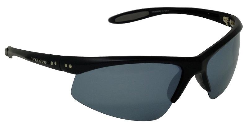 Crossfire Polarized Sunglasses Silver Mirror Cat-3  UV400 Lenses