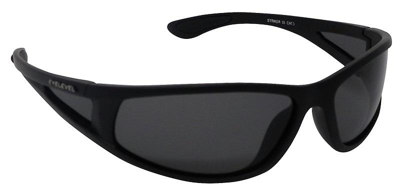 Striker Sunglasses Polarized Grey Cat-3 UV400 Lenses + Side Shields