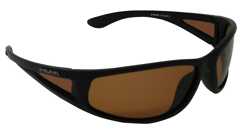 adfaabbaad04 Striker Sunglasses Polarized Amber Cat-2 UV400 Lenses + Side-Shields