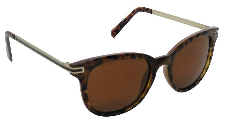 Bethany Womens Sunglasses Polarized Brown Cat-3 UV400 Lenses