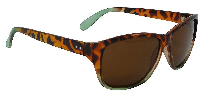 Sophia Womens Tortoiseshell Sunglasses Polarized Brown Cat-3 UV400 Lenses