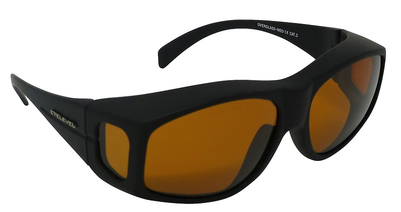 Medium Overglasses Polarized Amber Cat-2 UV400 Lenses