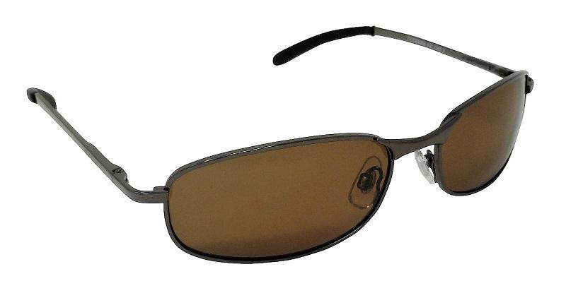 Ferrara Metal Sunglasses Polarized Brown Cat-3 UV400 Lenses