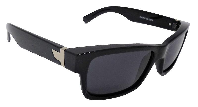 Pacific Sunglasses Polarized Grey Cat-3 UV400 Lenses