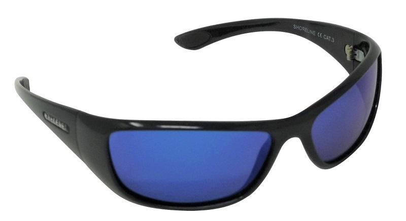 Shoreline Sunglasses Polarized Blue Mirror Cat-3 UV400 Lenses