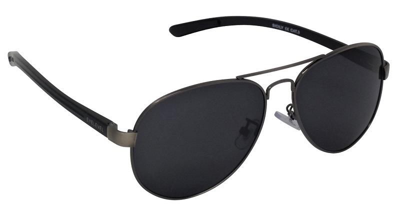 4fce9dd688f9 FREE SHIPPING! Sicily Aviator Sunglasses Polarized Grey Cat 3 UV400 ...