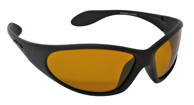 Sprinter Sunglasses Polarized Yellow Light Enhancing UV400 Lenses