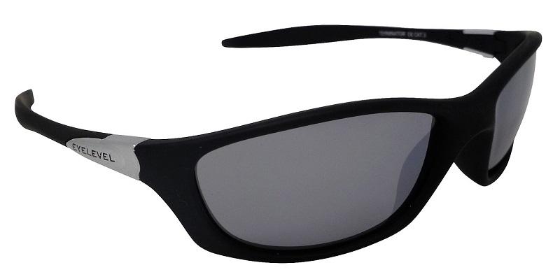 Terminator Sports Sunglasses Silver Mirror Cat-3 UV400 Lenses