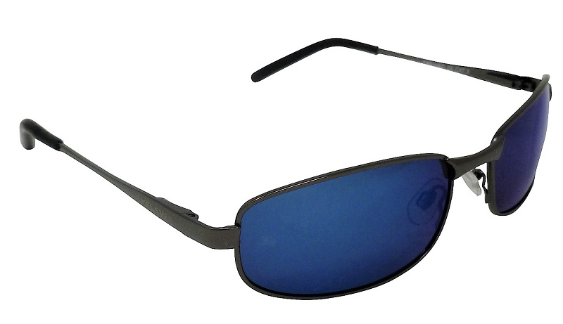 Treviso Metal Sunglasses Polarized Blue Mirror Cat-3 UV400 Lenses