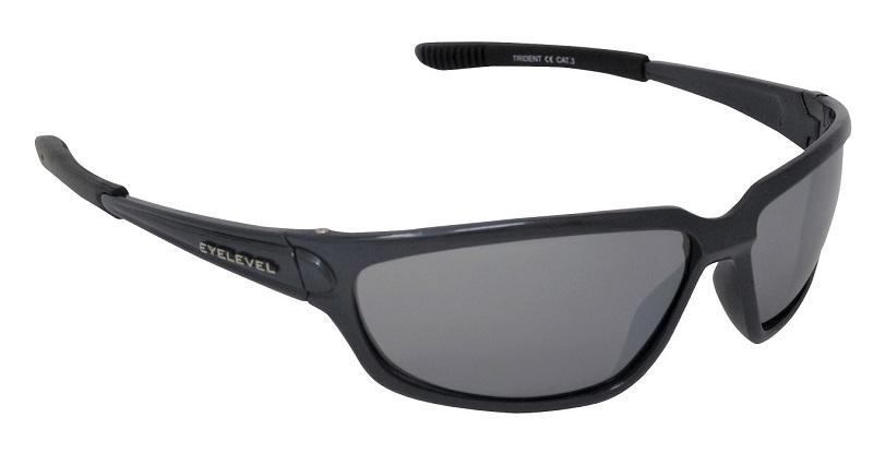 Trident Sports Sunglasses Silver Mirror Cat-3 UV400 Impact Resistant Lenses