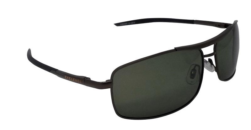 Tuscany pilot style Polarized Smoke-Green Cat-3 UV400 Lenses