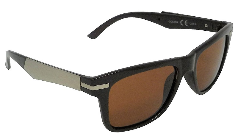 Oceana Sunglasses Polarized Brown Cat-3 UV400 Lenses