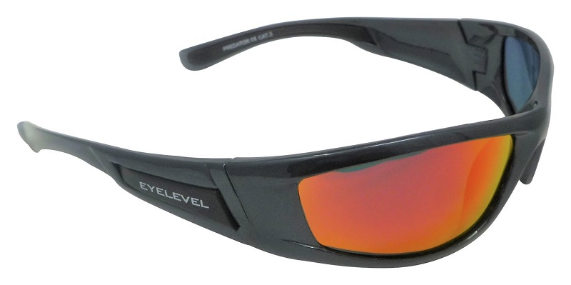 Predator Sunglasses Polarized Red Mirror Cat-3 UV400 Lenses
