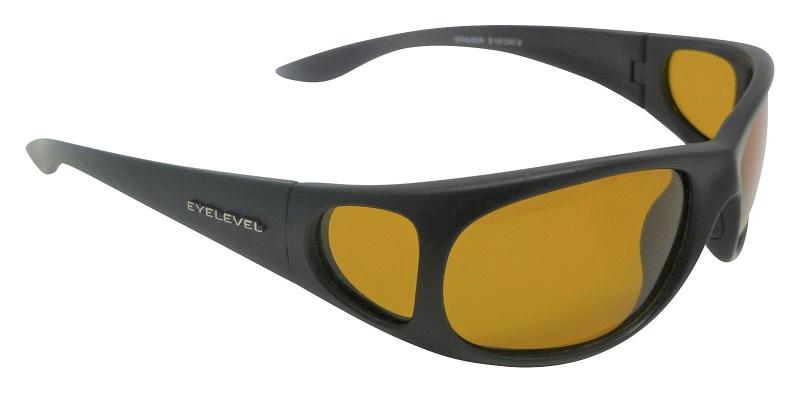 Stalker Sunglasses Polarized Yellow Light Enhancing UV400 Lenses + Side Shields