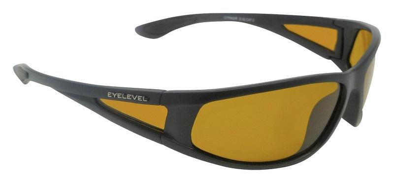 Striker Sunglasses Polarized Yellow Cat-2 UV400 Lenses + Side-Shields