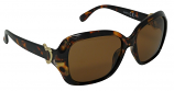 Cheryl Tortoiseshell Sunglasses Polarized Brown Cat-2 UV400 Lenses