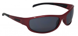Jet Red Sports Sunglasses Grey Cat-3 UV400 Shatterproof Lenses