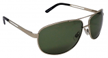 Lazio pilot style Polarized Smoke-Green Cat-3 UV400 Lenses