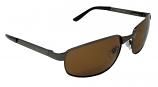 Genoa Metal Sunglasses Polarized Brown Cat-3 UV400 Lenses