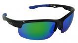 Trail Sports Sunglasses Blue-Mirror Cat-3 UV400 Impact Resistant Lenses