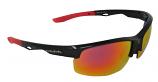 Trail Sports Sunglasses Red Mirror Cat-3 UV400 Impact Resistant Lenses