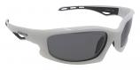 Castaway White Sunglasses Polarized Grey Cat-3 UV400 Lenses