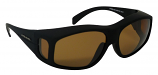 Medium Overglasses Polarized Brown Cat-2 UV400 Lenses