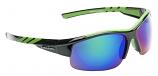 Meteor Sports Sunglasses Blue Mirror Shatterproof Cat-3 UV400 Lenses