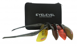 Shooting/Safety Glasses Set - 4 Colours Interchangeable Shatterproof UV400 Lenses