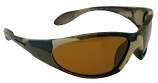 Camouflage Sunglasses Polarized Brown Cat 3 UV400 Lenses