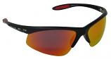 Crossfire Sunglasses Polarized Red Mirror Cat-3 UV400 Lenses