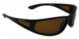 Striker Sunglasses Polarized Brown Cat-3 UV400 Lenses + Side-Shields