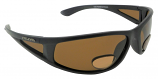 PowerStriker Sunglasses Polarized Brown UV400 Lenses with Bifocal+2.00 Insets