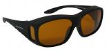 Regular Overglasses Polarized Amber Cat-2 UV400 Lenses