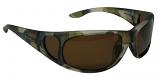 Carp Sunglasses Polarized Brown Cat 3 UV400 Lenses + Side Shields
