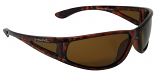 Floatspotter Sunglasses Polarized Brown Cat-3 UV400 Lenses + Side Shields