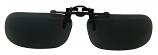 Clip-On USA-3 Polarized Sunglasses Grey Cat-3 UV400 Lenses