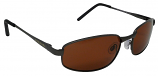 Pole Position Drivers Sunglasses Polarized Copper UV400 Lenses (MG)