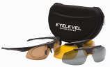 Challenger Sunglasses Set 3 Colour Polarized Interchangeable UV400 Lenses