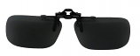 Clip-On Polarized Sunglasses NH-7 Grey Cat-3 UV400 Lenses